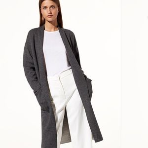 Babaton Aritzia Cardigan sweater long oversized xs